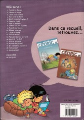 Verso de Cédric -BOBD- Le best of de la BD - 5