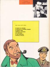 Verso de Blake et Mortimer (Les aventures de) (Historique) -1c1970- Le Secret de l'Espadon - Tome I - La Poursuite fantastique