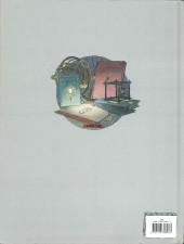 Verso de Les cités obscures -H02a- L'archiviste