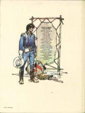 Verso de Blueberry (La Jeunesse de) -3'- Cavalier bleu