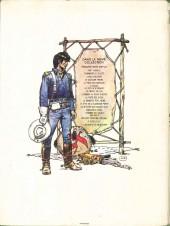 Verso de Blueberry (La Jeunesse de) -1'- La jeunesse de Blueberry