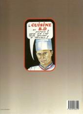 Verso de La b.D. de la cuisine - La B.D. de la cuisine
