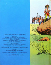 Verso de Davy Crockett (Vaillant) -3- Sur la piste brûlée