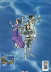 Verso de Les aventures d'Aline -3- Les Gardiens du Mont Saint-Michel