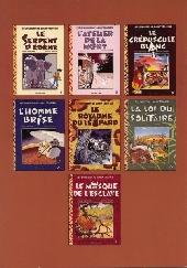 Verso de Jimmy Tousseul -8Liv- Le carnet de route de Jimmy Tousseul