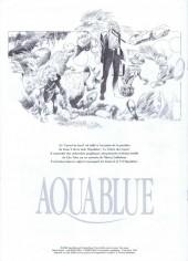 Verso de Aquablue -HS- Carnet de bord