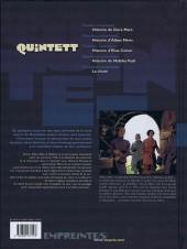 Verso de Quintett -2- Deuxième mouvement : Histoire d'Alban Méric