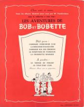 Verso de Bob et Bobette -5- La Trompette Magique