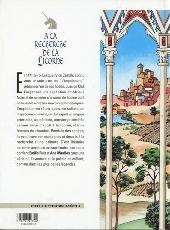 Verso de À la recherche de la Licorne -1- La blessure et le baume