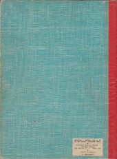 Verso de (Recueil) Spirou (Album du journal) -111- Spirou album du journal