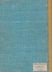 Verso de (Recueil) Spirou (Album du journal) -116- Spirou album du journal