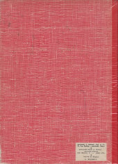Verso de (Recueil) Spirou (Album du journal) -115- Spirou album du journal