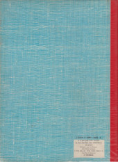 Verso de (Recueil) Spirou (Album du journal) -139- Spirou album du journal