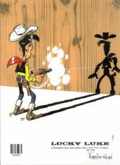 Verso de Lucky Luke -70FL- La légende de l'Ouest