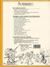 Verso de (Recueil) Spirou (Album du journal) -190- Spirou album du journal