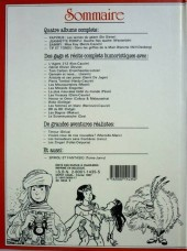 Verso de (Recueil) Spirou (Album du journal) -183- Spirou album du journal