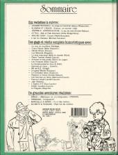 Verso de (Recueil) Spirou (Album du journal) -191- Spirou album du journal