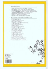 Verso de (Recueil) Spirou (Album du journal) -261- Spirou album du journal