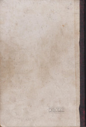 Verso de (Recueil) Spirou (Album du journal) -17- Spirou album du journal