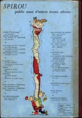 Verso de (Recueil) Spirou (Album du journal) -33- Spirou album du journal