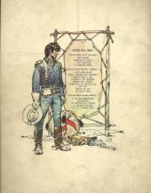 Verso de Blueberry -4'- Le cavalier perdu