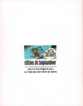 Verso de Le flagada -8a2005- Les Pignoufs ont disparu !