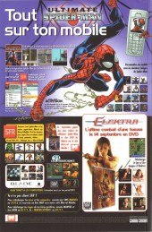 Verso de Marvel Icons (Marvel France - 2005) -5- Evasion (1)