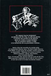 Verso de Sin City -2- J'ai tué pour elle