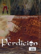 Verso de El Perdicion -1- Les canons d'or