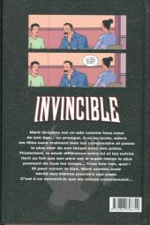 Verso de Invincible -1- Affaires de famille
