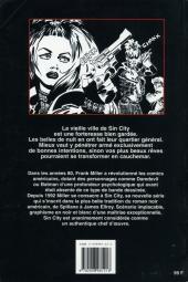 Verso de Sin City -3- Le grand carnage