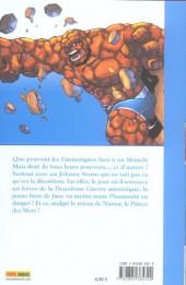 Verso de Fantastic Four (Marvel Kids) -1- Drôle de famille