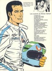 Verso de Michel Vaillant -5c1976- Le 13 est au départ