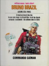 Verso de Bruno Brazil -2a1976- Commando Caïman