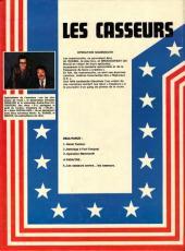 Verso de Les casseurs - Al & Brock -3'- Opération Mammouth
