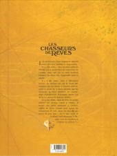 Verso de Les chasseurs de rêves -2- Les Chats