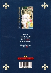 Verso de La rose de Versailles -3- Tome 3 - Hors série