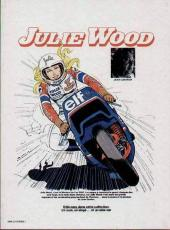 Verso de Julie Wood -7'- Ouragan sur Daytona