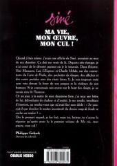 Verso de Ma vie, mon œuvre, mon cul ! -INT1- Volume 1