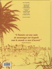 Verso de La croix de Cazenac -7- Les Espions du Caire