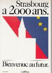 Verso de Germain Muller raconte Strasbourg - 2000 ans d'histoire