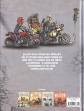 Verso de Les mémoires d'un motard -5- Rendez-vous tous à Katmandou
