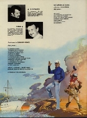 Verso de Bernard Prince -6a1980- La loi de l'ouragan