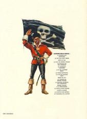 Verso de Barbe-Rouge -14a1980- Le pirate sans visage