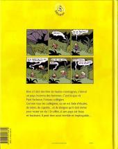 Verso de Pipit Farlouse -1- La couvée de l'angoisse