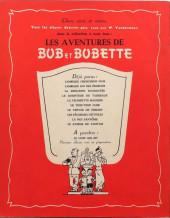 Verso de Bob et Bobette -10- Le Joueur de tamtam
