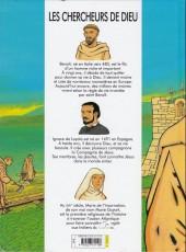 Verso de Les chercheurs de Dieu -11- Saint Benoît, Ignace de Loyola, Marie Guyart
