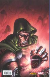 Verso de Fantastic Four (Marvel Deluxe) -1- L'appel des ténèbres
