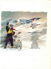 Verso de Tanguy et Laverdure -2c1971- Pour l'honneur des Cocardes