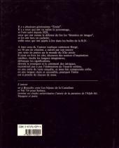 Verso de (AUT) Hergé -164- Dossier Tintin